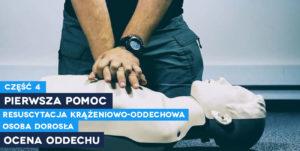 Resuscytacja krążeniowo-oddechowa, RKO. Szkolenia z pierwszej pomocy Wrocław, kurs pierwszej pomocy
