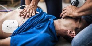 Nagłe zatrzymanie krążenia, AED, defibrylacja, pierwsza pomoc