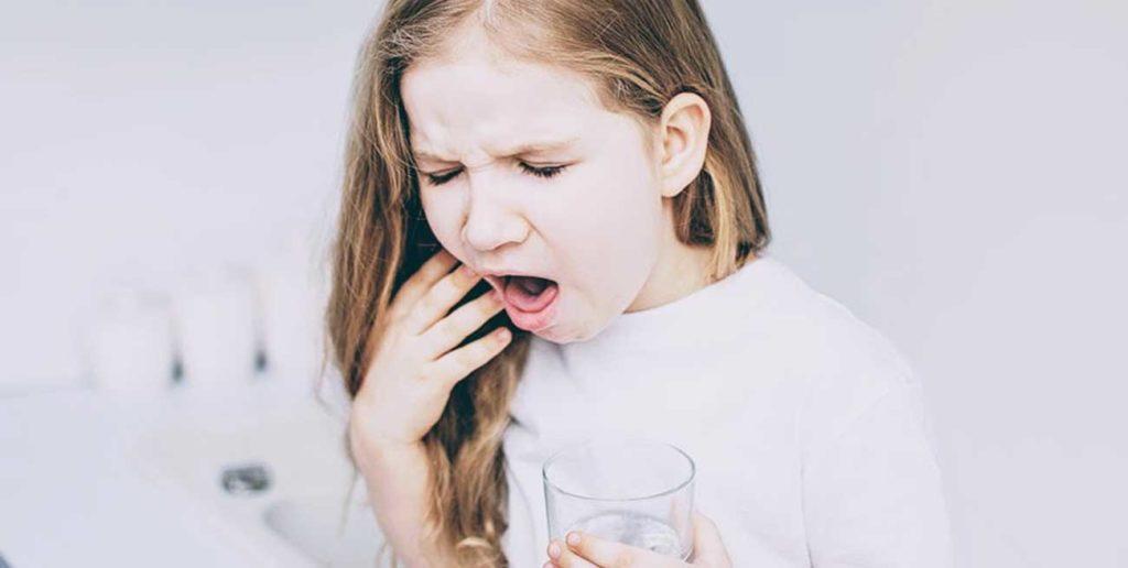 Zachłyśnięcie dziecka płynem