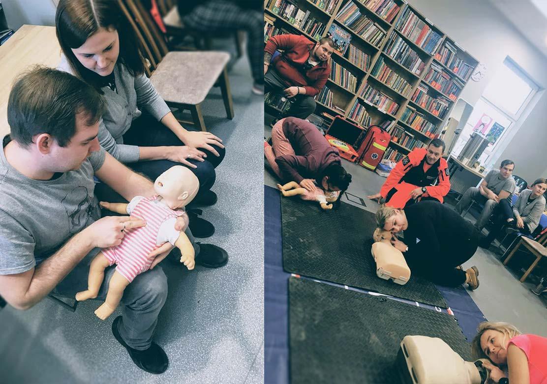 Szkolenie i kurs pierwszej pomocy. Pierwsza pomoc pediatryczna.