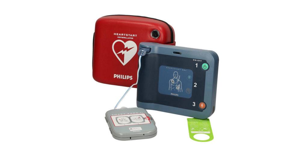 AED - automatyczny defibrylator zewnętrzny. Philips FRx.