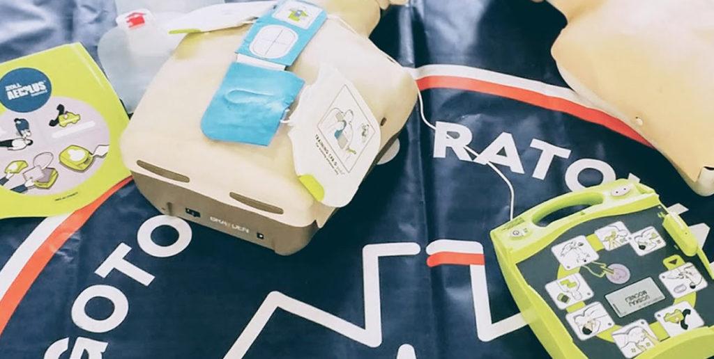 AED - automatyczny defibrylator zewnętrzny. Szkolenie z pierwszej pomocy Wrocław