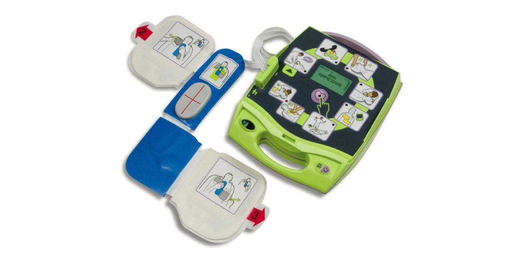 AED - automatyczny defibrylator zewnętrzny. Zoll PLUS.