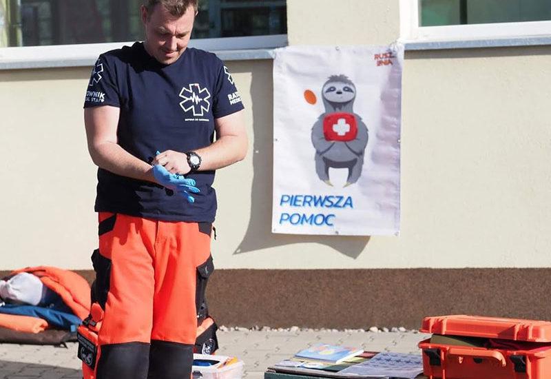 Bezpłatne szkolenia z pierwszej pomocy we Wrocławiu