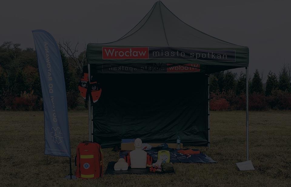 Szkolenie z pierwszej pomocy pokazy i wydarzenia Wrocław kurs pierwszej pomocy podczas wydarzeń