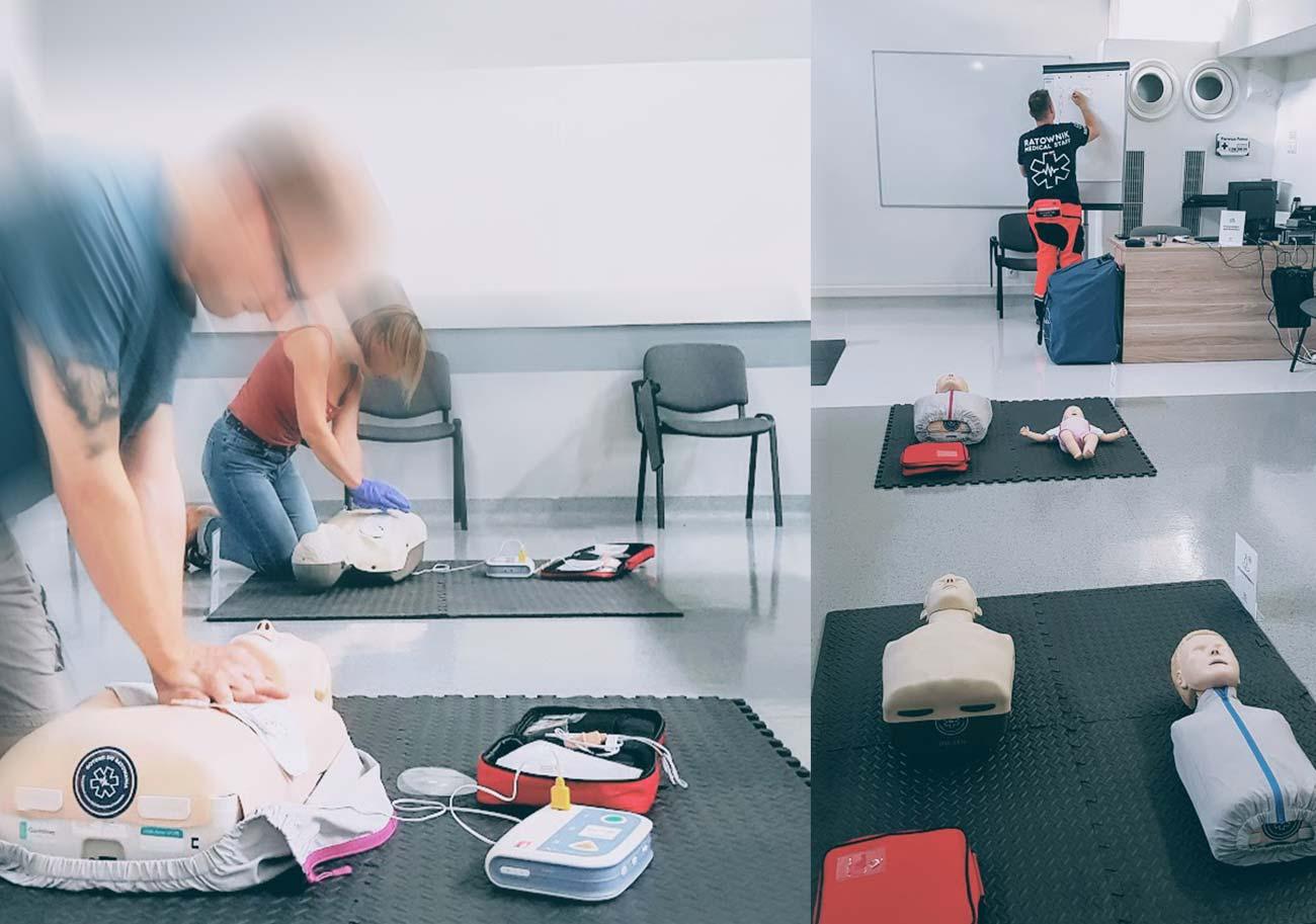Szkolenie z pierwszej pomocy we Wrocławiu. Kurs pierwszej pomocy Wrocław. Pierwsza pomoc podstawy.