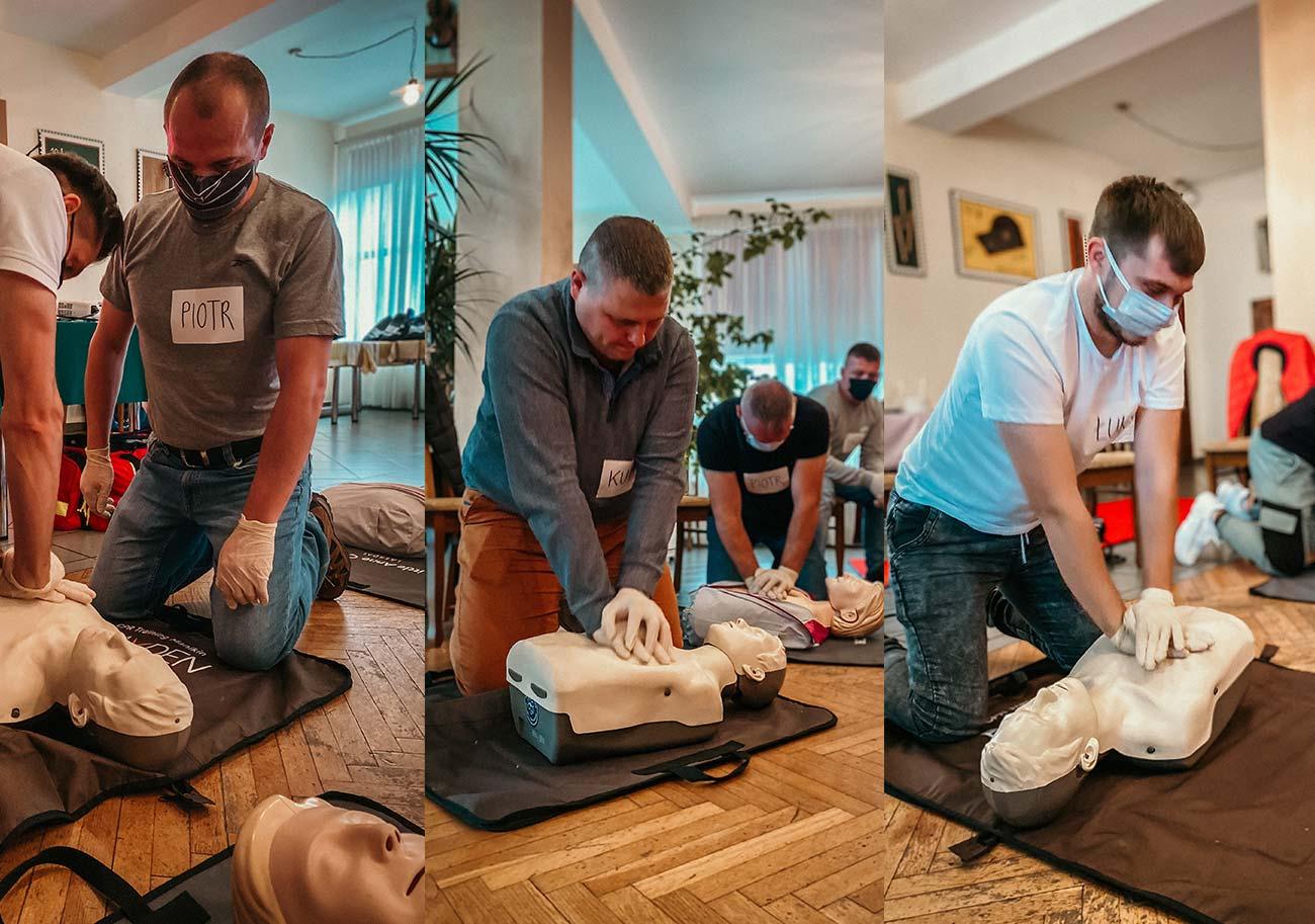 Szkolenie z pierwszej pomocy kierowca kurs pierwszej pomocy dla kierowców Wrocław
