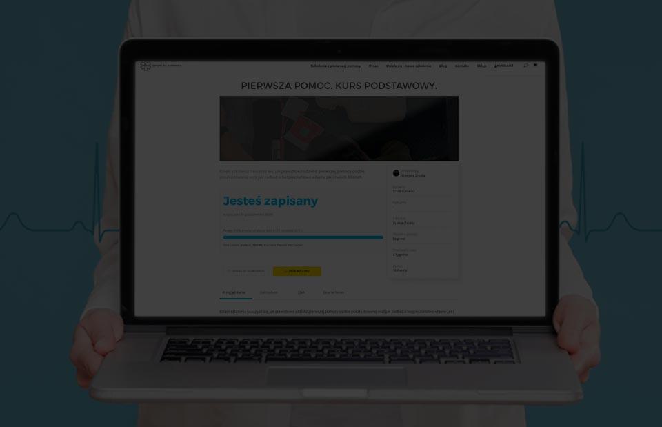 Szkolenie z pierwszej pomocy online, kurs pierwszej pomocy przez internet Wrocław pierwsza pomoc online