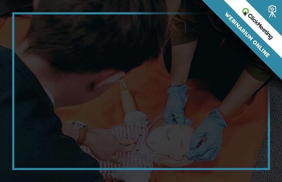 Szkolenie z pierwszej pomocy pediatrycznej online kurs pierwszej pomocy dla rodziców przez Internet szkolenie pierwsza pomoc dla opiekunów w Internecie webinar pierwsza pomoc dzieciom internetowy kurs pierwszej pomocy